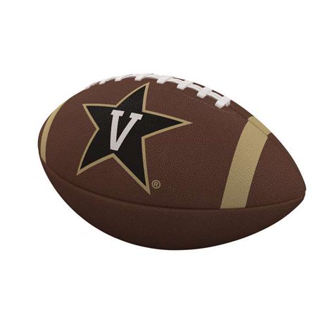 Vanderbilt Commodores Team Stripe Full-Size Composite Football