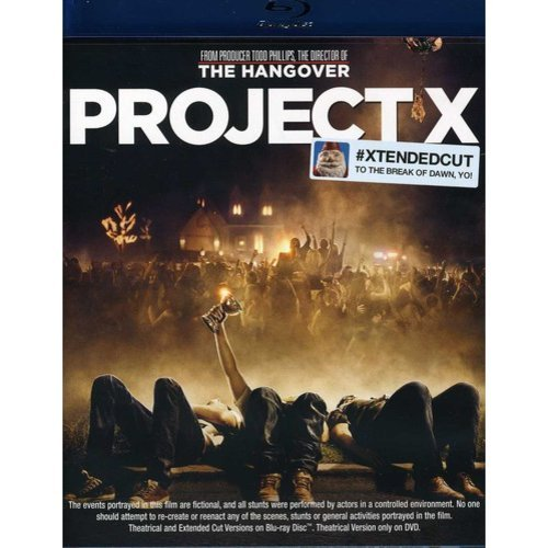 Project X (Xtended Cut To The Break Of Dawn, Yo!) (Blu-ray) (With INSTAWATCH) (Widescreen)