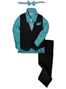 92113e7039dc Product Image Johnnie Lene Boys Formal Pinstripe Dresswear Vest Set JL40
