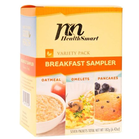 HealthSmart - High Protein Breakfast Sampler - Variety Pack - Low Calorie - Low Carb - Low Sugar - 7/Box