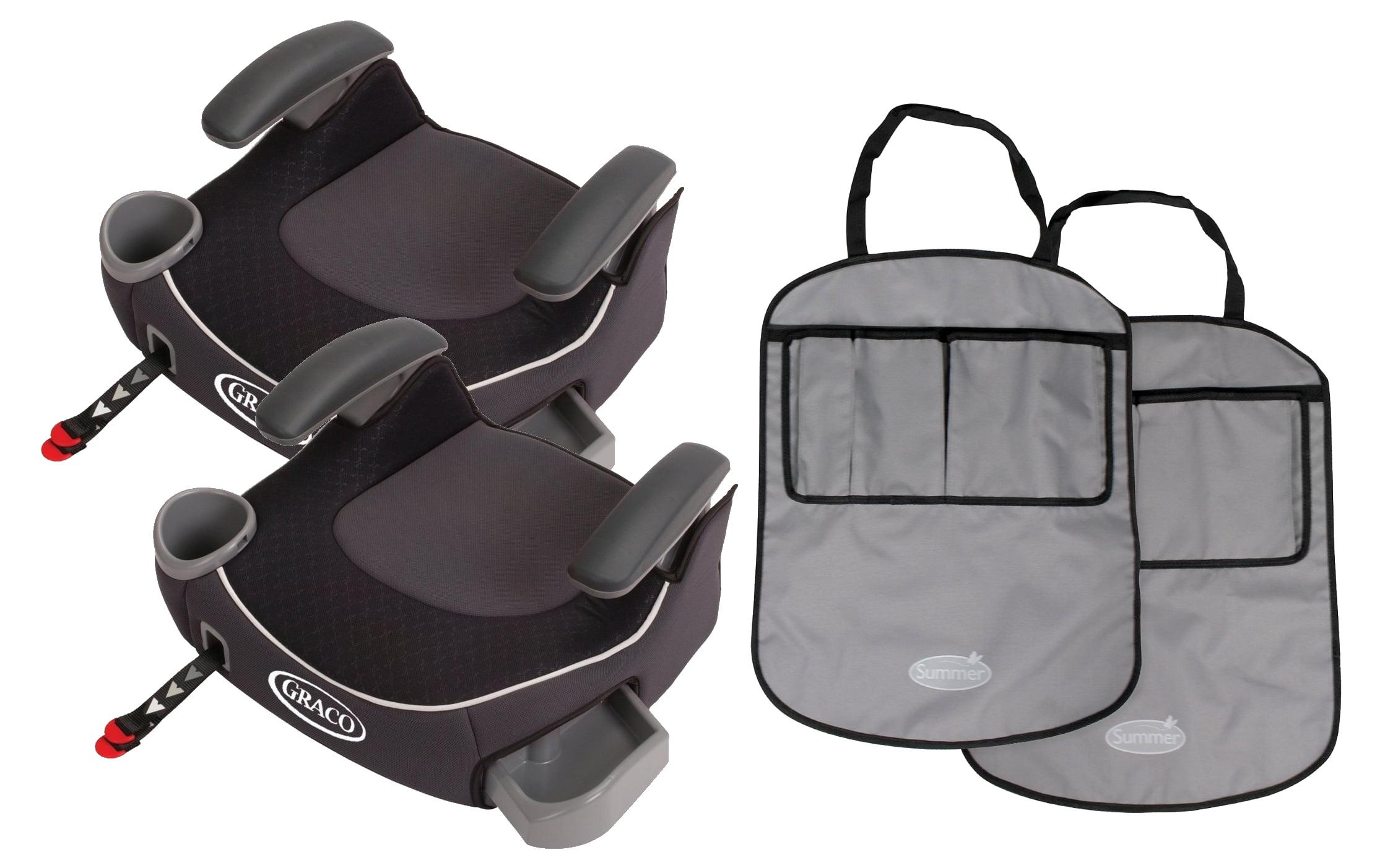 Silla De Carro Para Bebe 2 Fije la Graco Booster sin respaldo asientos con esteras de tiro libre, Davenport + Graco en Veo y Compro