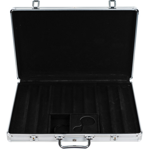 Trademark Poker 650 Capacity Chip Case, Executive Aluminum Hard Side