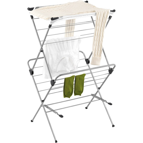 Honey Can Do 2-Tier Mesh Top Drying Rack
