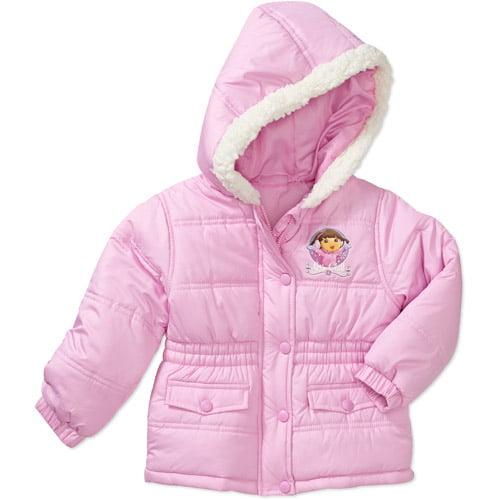 Nickelodeon Baby Girls' Dora Winter Coat