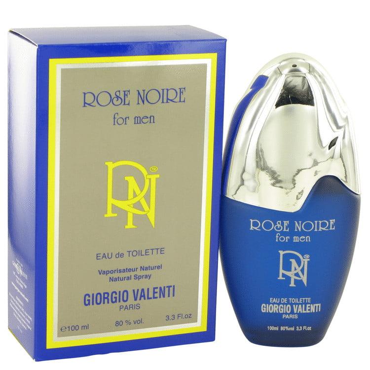 ROSE NOIRE by Giorgio Valenti,Eau De Toilette Spray 3.4 oz, For Men