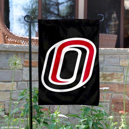 "nebraska omaha mavericks 13"" x 18"" college garden flag"