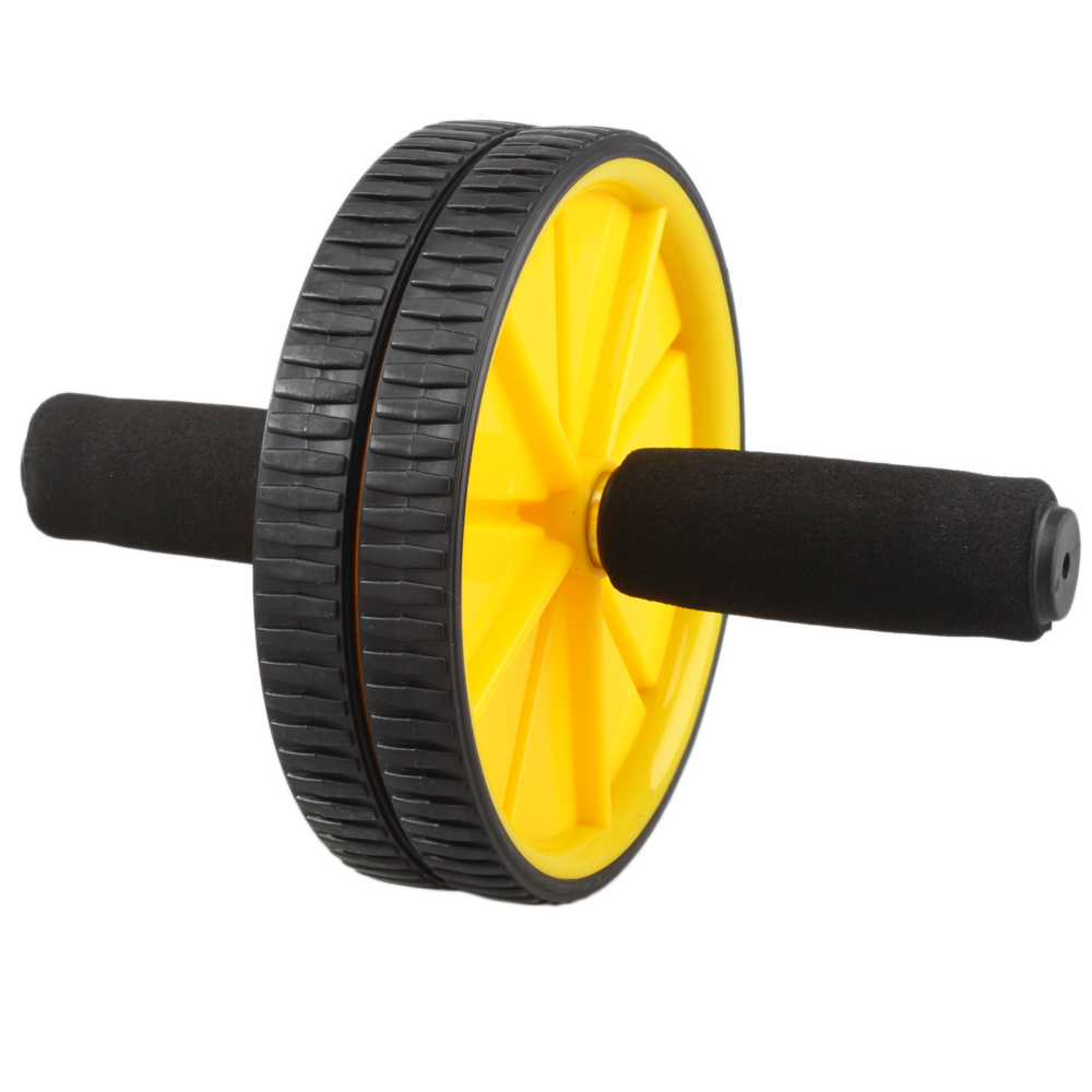 Ktaxon AB Wheel Roller, Dual Wheels, Abs Carver for Abdominal & Stomach Exercise Training, Fitness Equipment Core Shredding,with Foam Handles, Great Grip, Double Wheels,The Ultimate Exercise Wheel