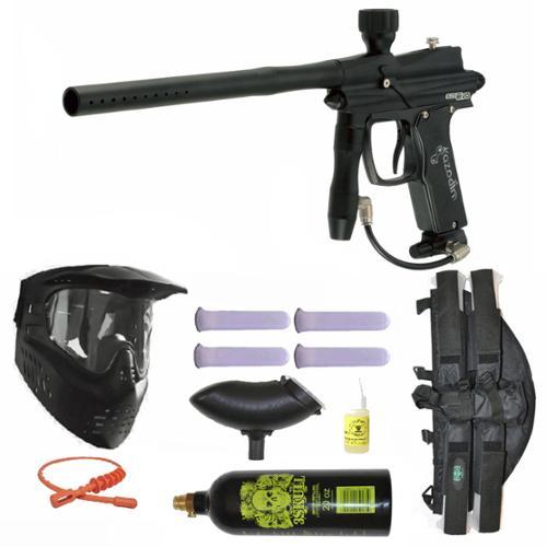 Click here to buy Azodin Blitz Evo Electronic Paintball Marker Gun 3Skull 4+1 Mega Set Black.
