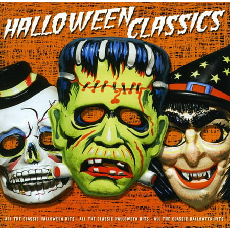 Halloween Classics (CD) - Sonidos Espeluznantes Para Halloween