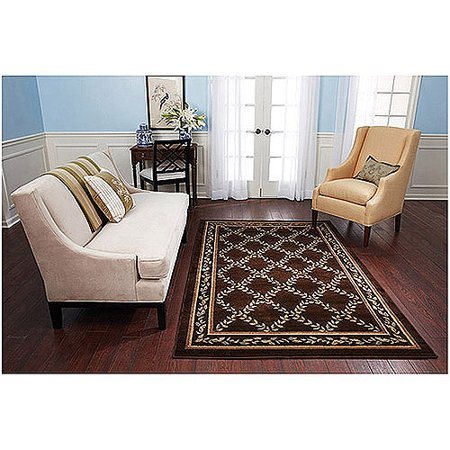 Better Homes And Gardens Brown Trellis Area Rug