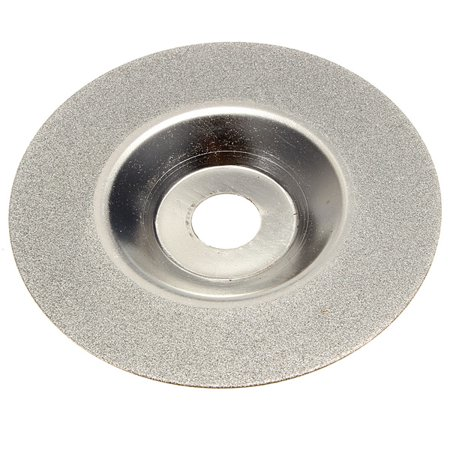 """100mm/4"""" Inch Diamond Coated Wheel Disc Carbide Grinding Concave Cup Grit Cutter Grinder Tool"""