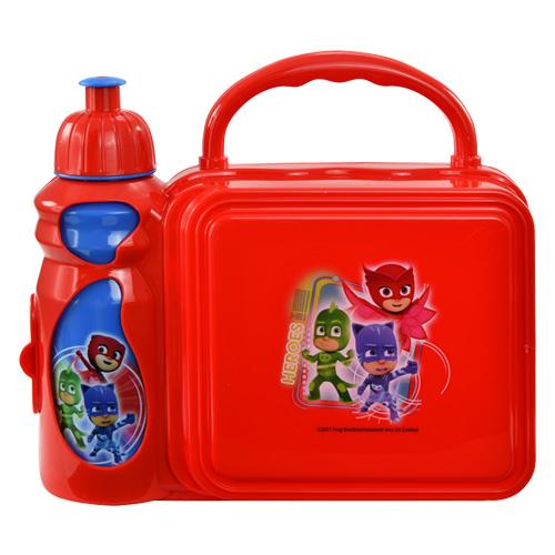 PJ Masks Combo Lunch Box with Water Bottle