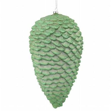 10 Celadon Green Matte-Glit Pinecone