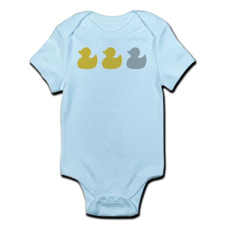 CafePress - Transparent Duck Duck Body Suit - Baby Light Bodysuit