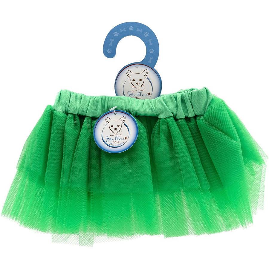 Stellar Pet Boutique Green Tutu Skirt