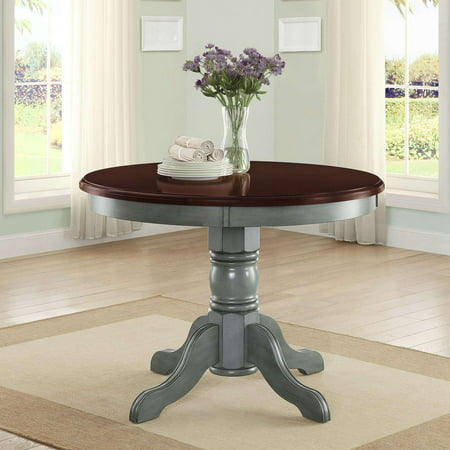Contemporary Round Dining Room Tables (Better Homes and Gardens Cambridge Place Dining Table, Blue)