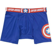 Captain America Men's License Boxer Brief