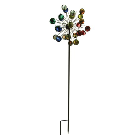 Border Concepts 72 in. Blossom Wind Spinner - Halloween Border Spider