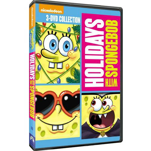 SpongeBob SquarePants: Holidays With SpongeBob - To Love A Patty / Christmas / Halloween (Full Frame)