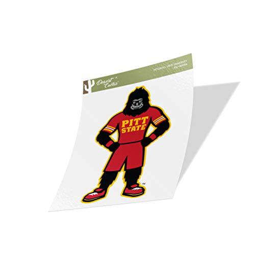 Sticker - 00037A Pittsburg State University Gorillas NCAA Vinyl Decal Laptop Water Bottle Car Scrapbook