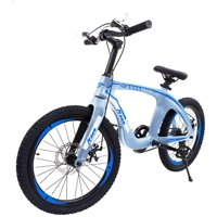 """Nice C BMX Bike, Mountain Bike, 20"""" Cycle Bicycle with Dual Disc Brakes, Ultralight for Boys and Girls"""