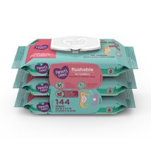 Flushable Wipes: Parent's Choice Flushable Toddler Wipes