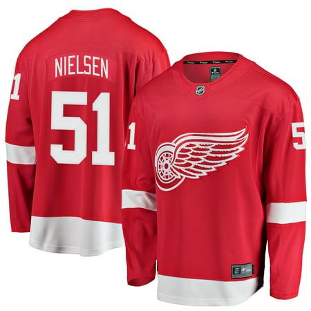 Frans Nielsen Detroit Red Wings Fanatics Branded Youth Breakaway Player Jersey -