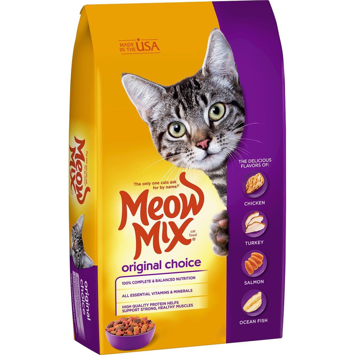 Meow Mix Dry Cat Food Original Choice, 30 Lb