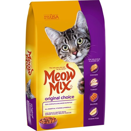 Meow mix original choice dry cat food, 30 lb