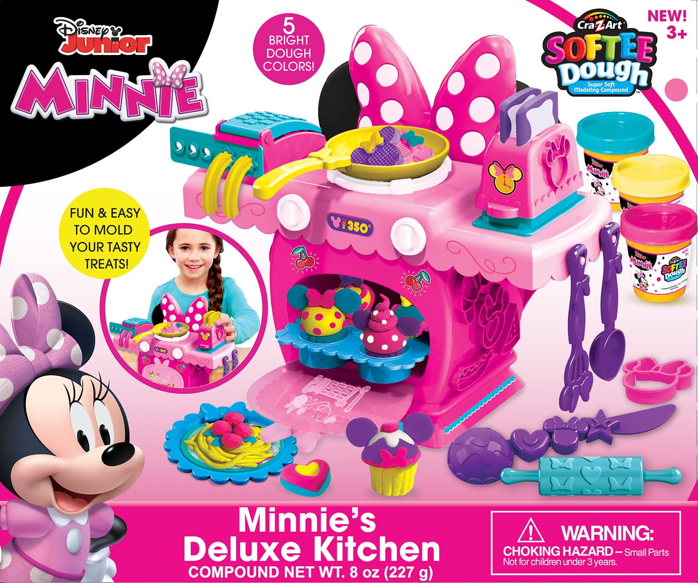 Cra-Z-Art Disney Junior Minnie/'s Deluxe Kitchen