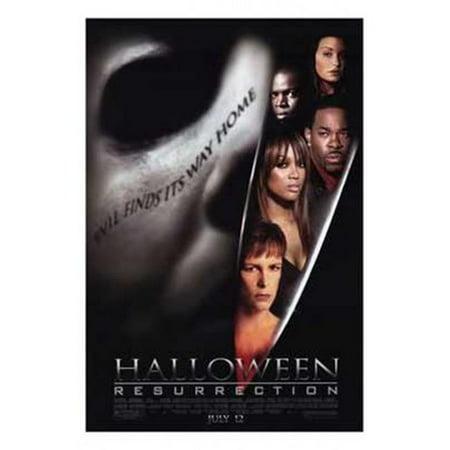 Posterazzi MOV189863 Halloween Resurrection Movie Poster - 11 x 17 in. - Halloween Ressurection