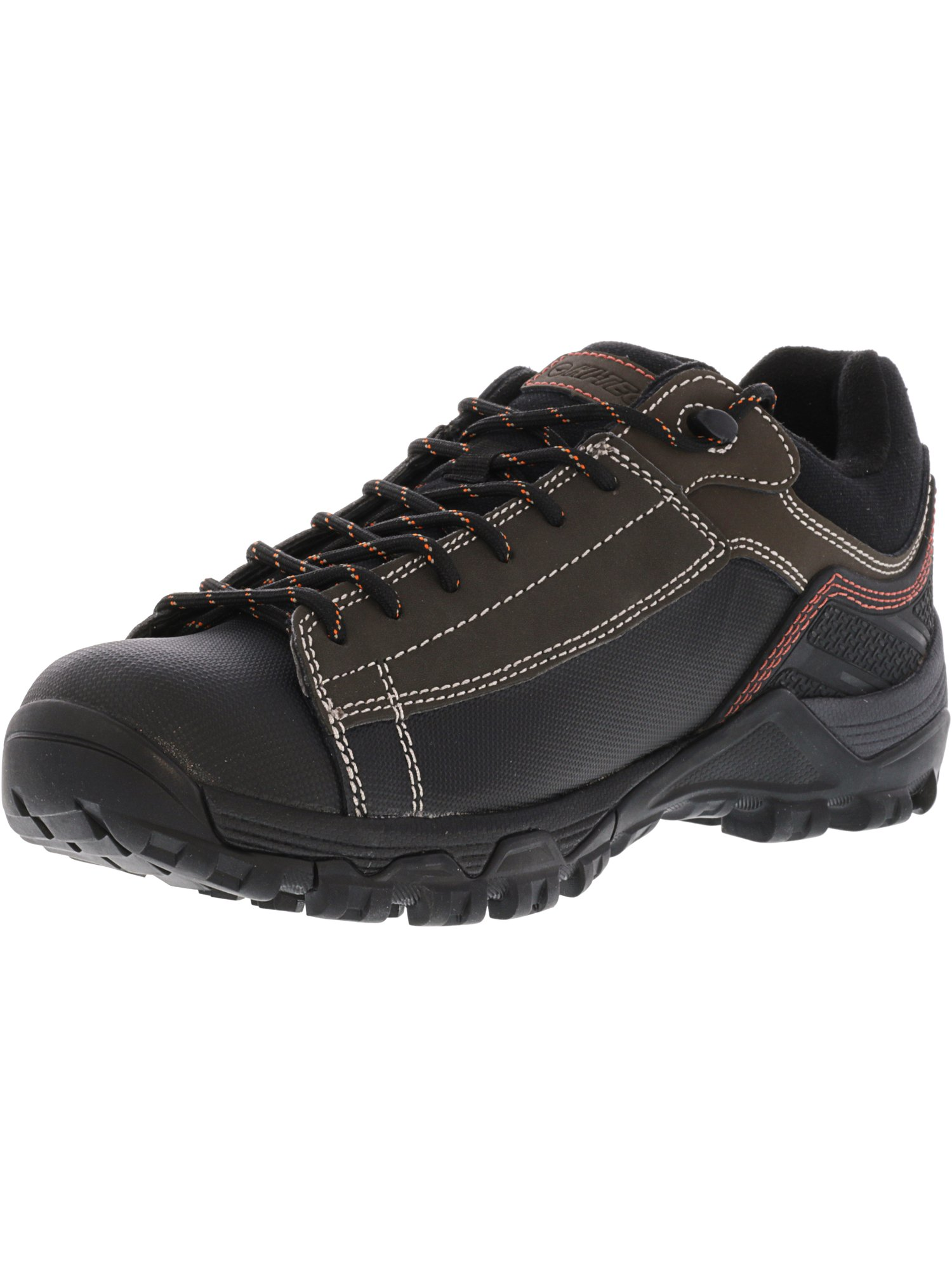 Hi-Tec Men's Trail Ox Low I Waterproof Chocolate   Burnt Orange Ankle-High Leather Hunting Shoe 8M by Hi-Tec