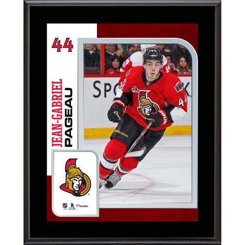 """Jean-Gabriel Pageau Ottawa Senators 10.5"""" x 13"""" Sublimated Player Plaque - No Size"""