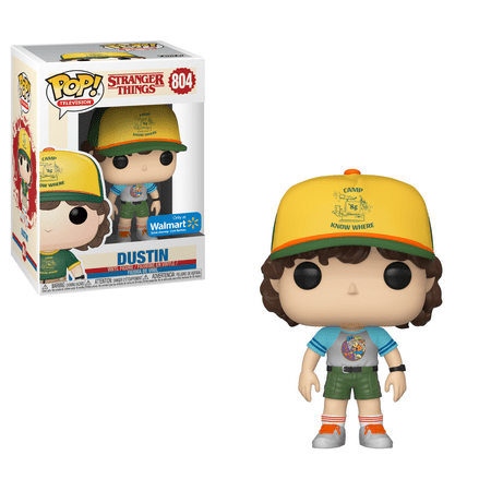 Adhesive Pop (Funko POP! Television: Stranger Things - Dustin Arcade Cat Tee (Walmart)