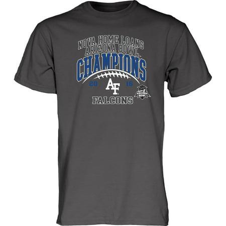 Air Force Falcons Blue 84 2016 Arizona Bowl Champions T-Shirt - Charcoal ()