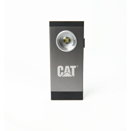 CAT CT5110 250 Lumen Pocket Spot Light with Magnetic Base, Gun Metal Silver