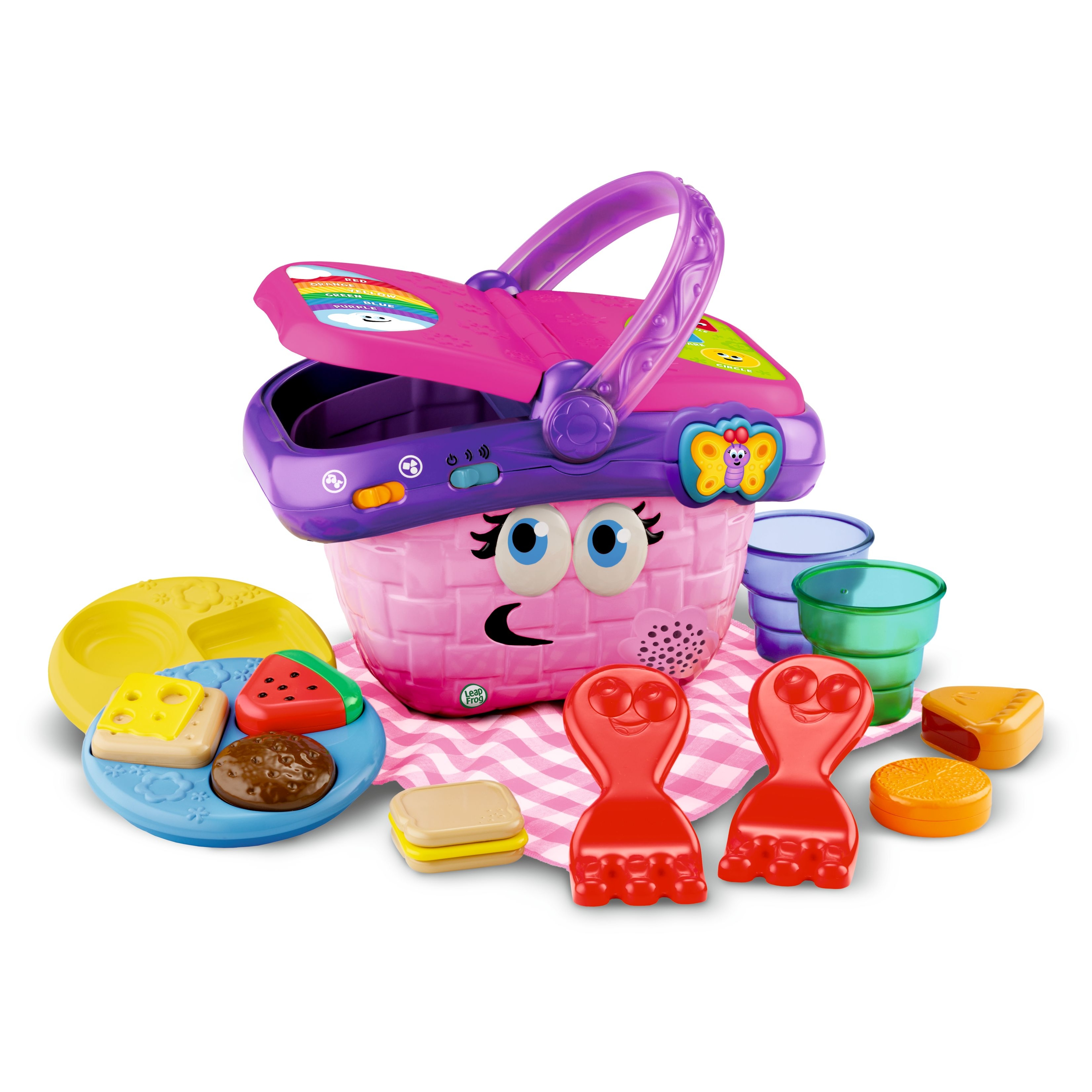 LeapFrog Shapes & Sharing Picnic Basket by LeapFrog