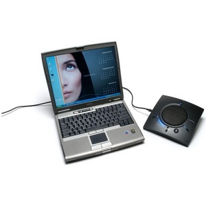 CHAT 150 USB GROUP Speaker Phone INCLUDES Speaker Phone AND USB CABLE by CLEARONE
