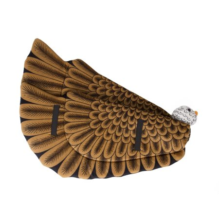 Wildlife Tree Bald Eagle Wings for Bird Costume, Kids Cosplay & Pretend Play
