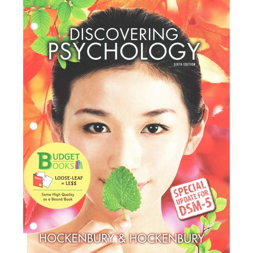 Discovering Psychology: Special Update for DSM-5