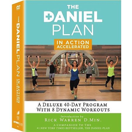 The Daniel Plan  In Action   Accelerated  3 Disc Dvd   Bonus Cd   Widescreen