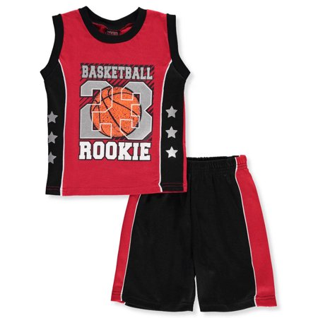 a7b08ffeb65c Mad Game Little Boys  Toddler 2-Piece Outfit (Sizes 2T - 4T ...