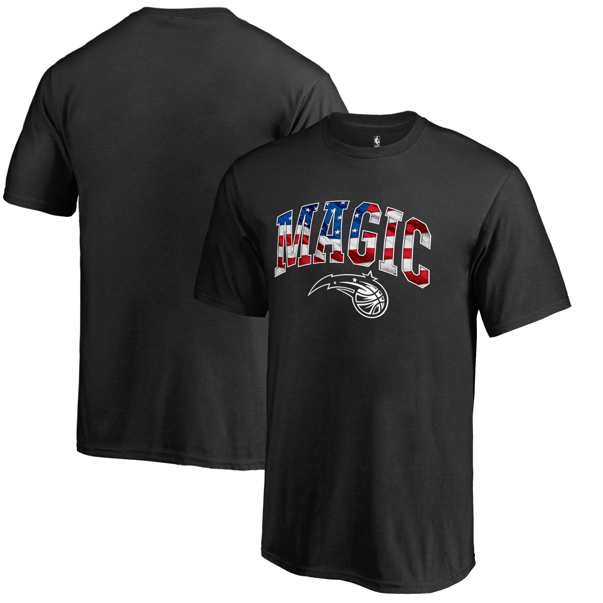 Orlando Magic Youth Banner Wave T-Shirt - Black