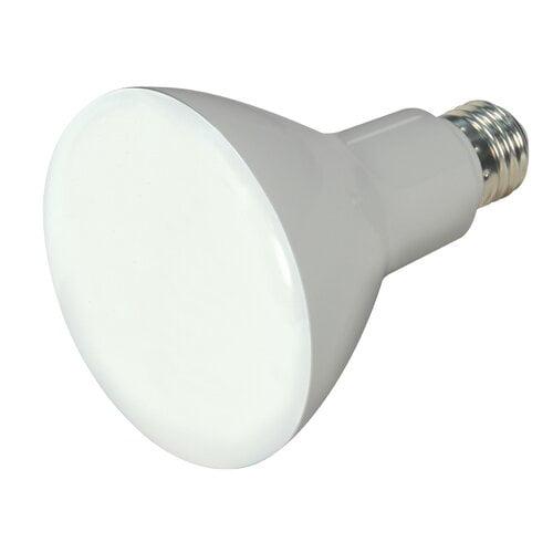 Satcoproductsandlighting 10 Watt 65 Watt Equivalent Br30 Led Dimmable Light Bulb Cool White 4000k E26 Medium Standard Base Walmart Com Walmart Com