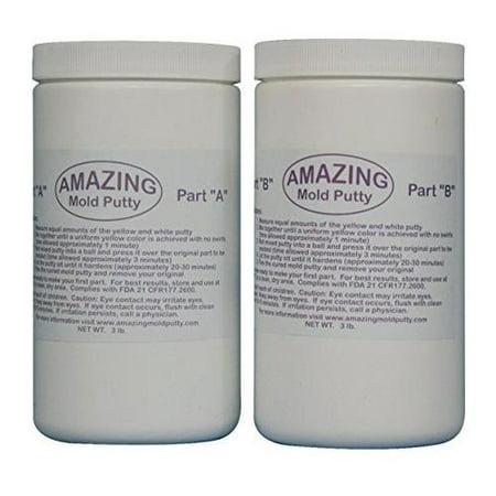 Alumilite Amazing Mold Putty 2 Part 6 Pound