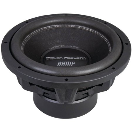 Power Acoustik BAMF-124 BAMF Series Subwoofer (12