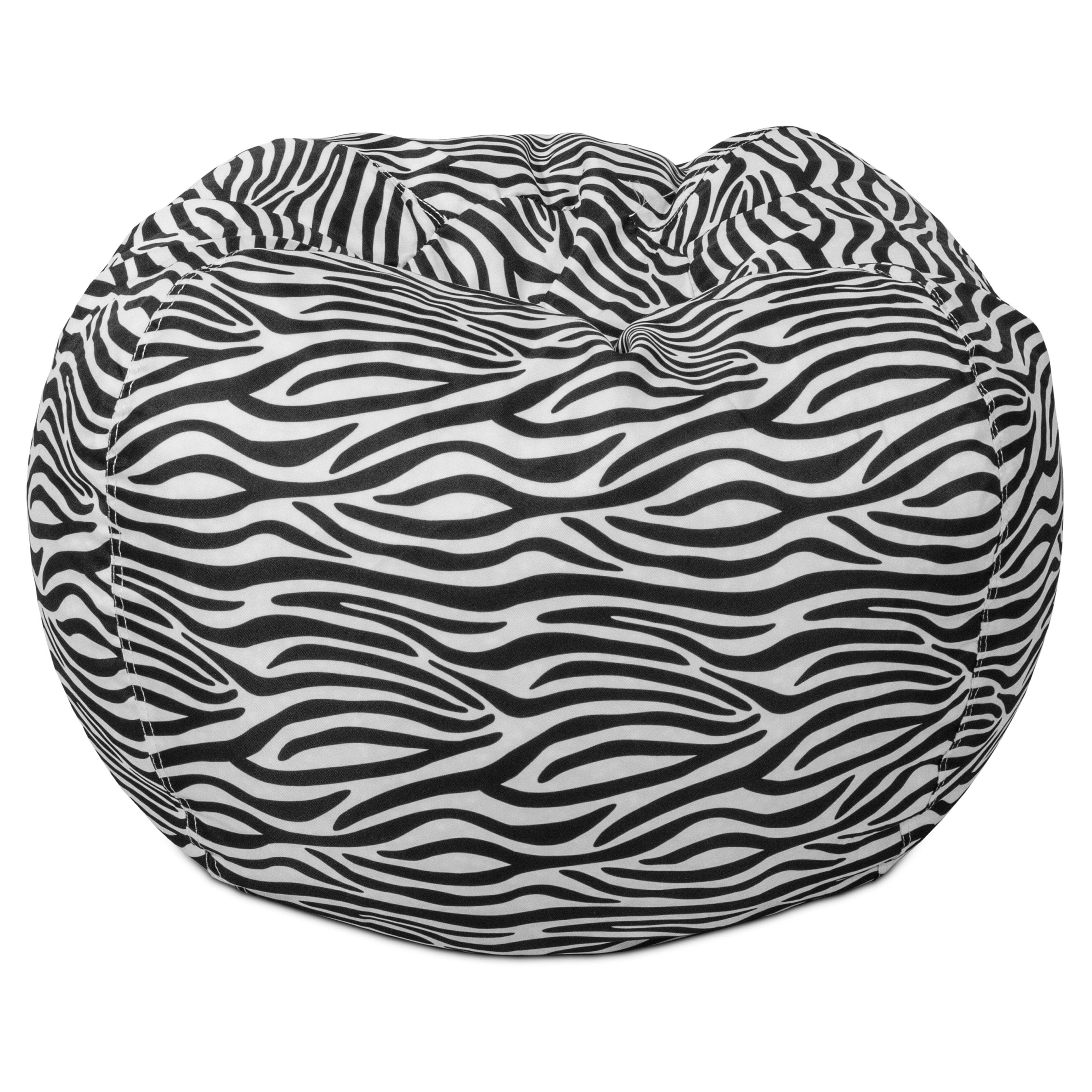 The Classic Ultimax Bean Bag Lounger - Zebra