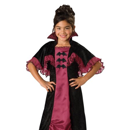 In Character Kids Vampire Girl Dress Outfit Halloween Costume