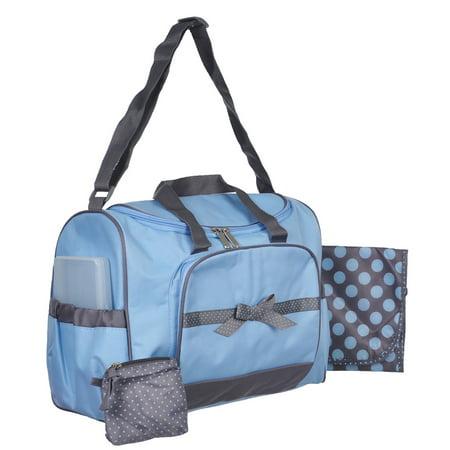 Baby Essentials 4 Piece Diaper Bag Set
