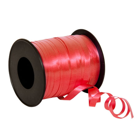 Curling Ribbon, Red, 100 yd, 1ct](Red Blue Ribbon Logo)